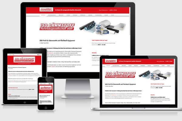 Neue Website von www.iso-daemmstoff.de
